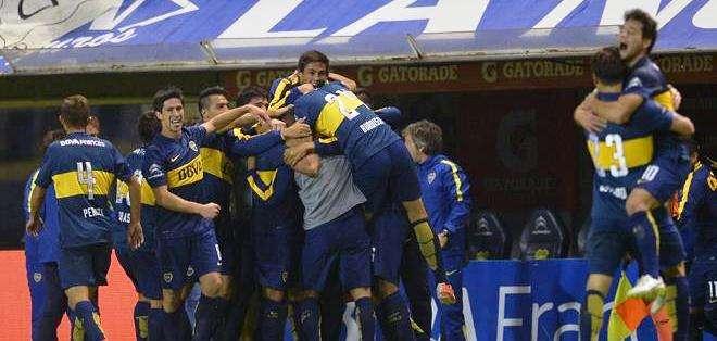Boca Juniors, líder del fútbol argentino (Foto: EFE)