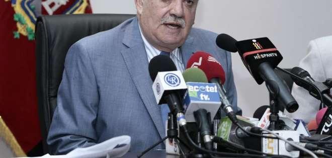 El fiscal general Galo Chiriboga ofreció detalles de la investigación de este caso.