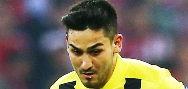 Ilkay Gündogan, aun jugador del Borussia Dortmund (Foto: Internet)