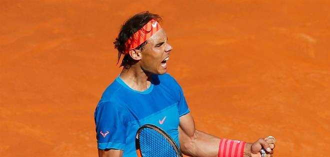 ESPAÑA.- El español Rafael Nadal, cuarto jugador mundial, confirmó su mejoría y se impuso en dos sets. Fotos: EFE