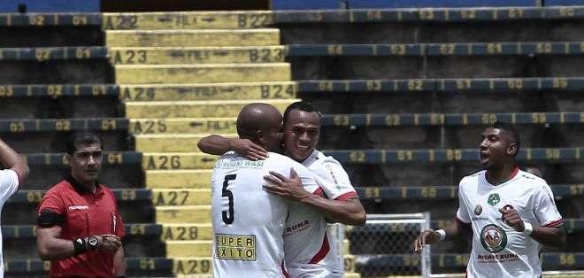 QUITO.- Mushuc Runa ganó por 1 a 0 a la Universidad Católica. Fotos: API
