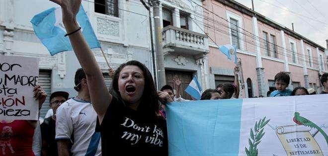 GUATEMALA.- La renuncia voluntaria de Baldetti se produjo a solo cuatro meses de los próximos comicios. Fotos: EFE