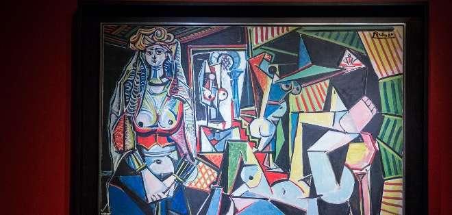 La lista incluye cuatro pinturas de Picasso y tres esculturas de Giacometti. Fotos: AFP