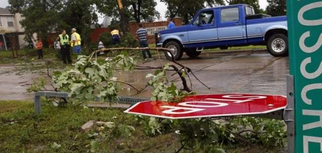 TEXAS, Estados Unidos. Según la información, el 30% de las residencias de la ciudad sufrieron algún tipo de daño. Fotos: Archivo
