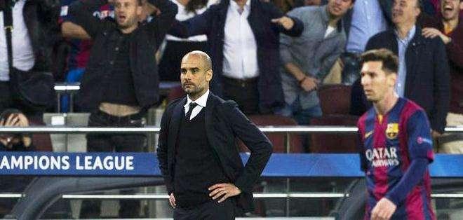 'Pep' Guardiola, entrenador del Bayern Múnich (Foto: EFE)