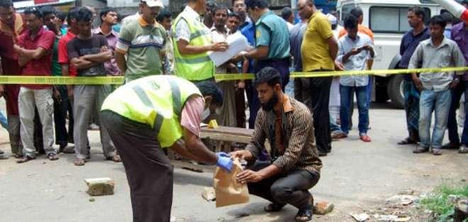 El bloguero Ananta Bijoy Das fue asesinado cuando se dirigía a trabajar.