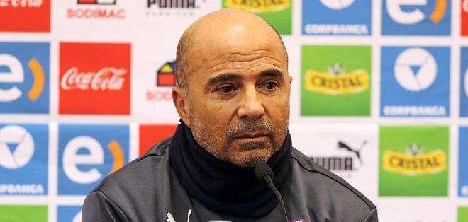 Jorge Sampaoli, entrenador de la selección chilena de fútbol (Foto: EFE)