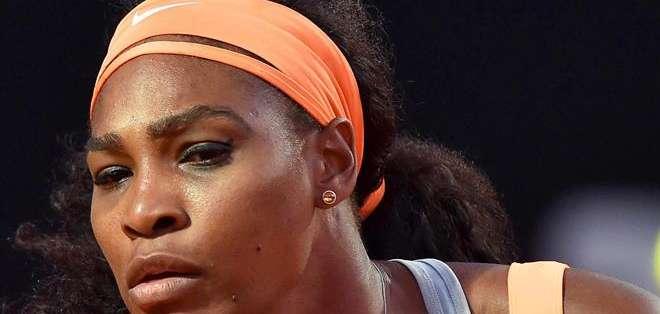ITALIA.- Serena solo necesitó dos sets para derrotar a su oponente por 6-1 y 6-3. Fotos: EFE