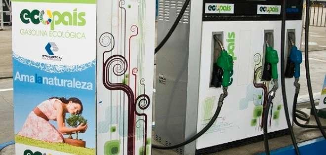 """QUITO.- Las autoridades esperan que hasta el 2017 """"Ecopaís"""" reemplace definitivamente a este combustible. Foto:"""