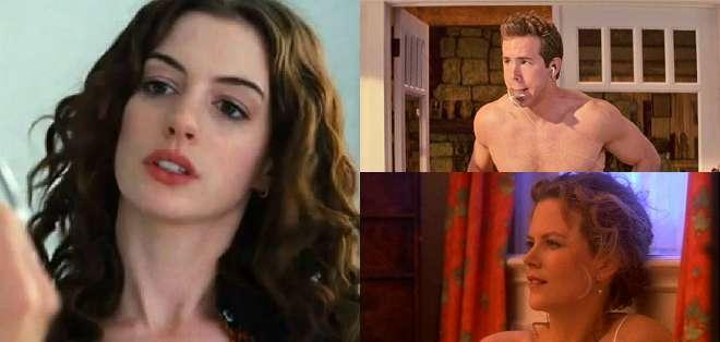 Es una de las partes más difíciles en la carrera de cualquier actor: desnudarse ante las cámaras.