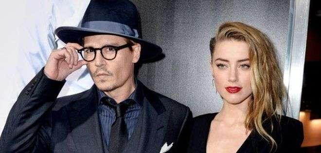 El gobierno acusó a Depp y su esposa de violar las leyes de importación.