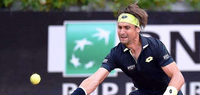 Ferrer, uno de los favoritos para ganar el torneo italiano (Foto: EFE)