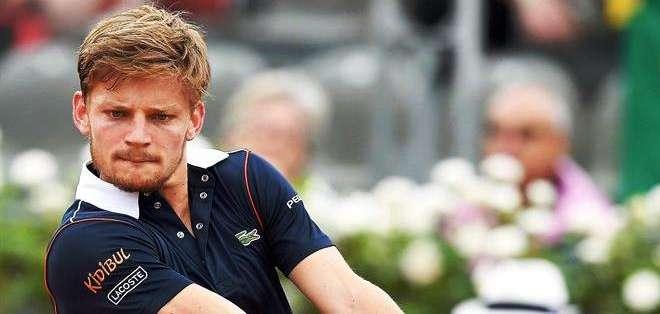 David Goffin, rival de Ferrer en los cuartos de final (Foto: EFE)