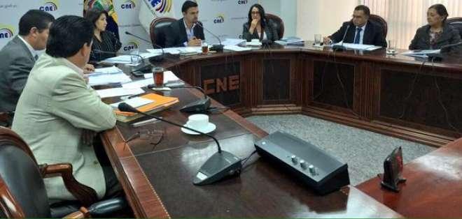 Los nuevos miembros del Consejo de Participación Ciudadana se confirmarán hasta el 17 de julio. Foto: CNE