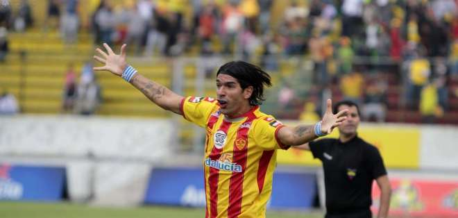 Abreu jugará su último partido en Ecuador cuando Aucas reciba a Barcelona. Foto: API