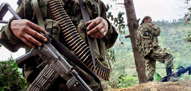 """El ejército señaló al grupo disidente """"Estiven Gonzales"""", de la guerrilla disuelta FARC. Foto: Archivo"""