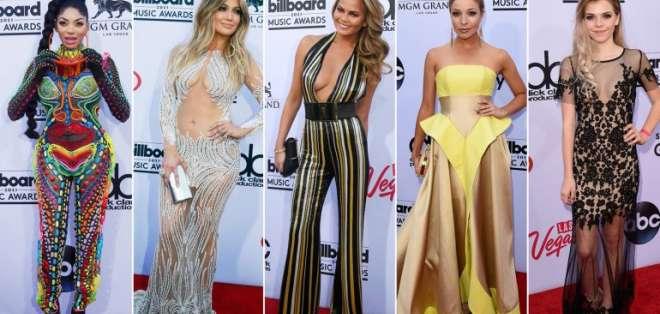Los Billboard Music Awards sorprendieron como siempre. Fotos: AFP y EFE