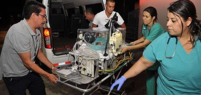 Los niños deben permanecer al menos tres meses bajo observación médica. Foto: La Nación de Costa Rica.