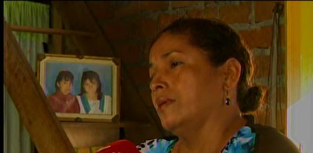 MILAGRO.- Madre de la fallecida relató que buscaban a Verdesoto desde 2011. Fotos: Captura Video.