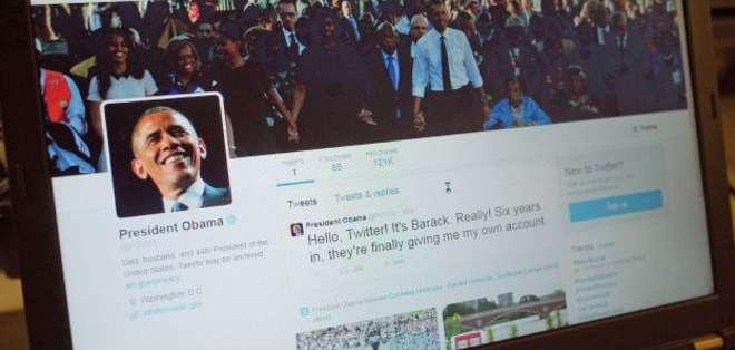 En pocas horas la cuenta personal de Barack Obama atrajo a miles de seguidores.