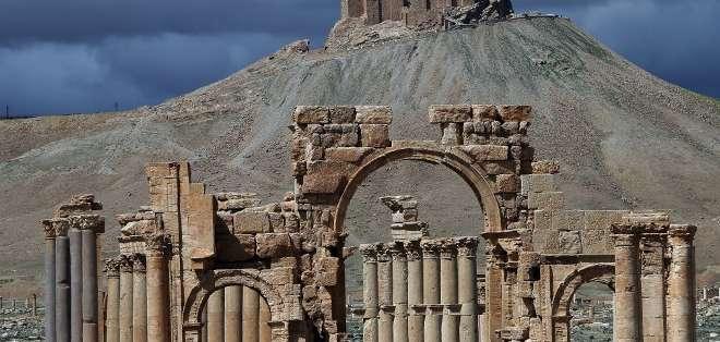 El grupo Estado Islámico (EI) se apoderó este jueves de la totalidad de la histórica ciudad de Palmira, en el desierto sirio. Fotos: AFP.