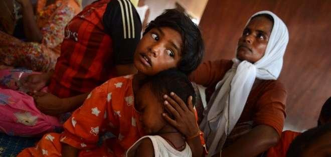 Todos los años miles de rohingyas y de bangladesíes se echan al mar para emigrar a Malasia. Fotos: AFP.
