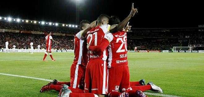 Independiente Santa Fe irá a Brasil con la ventaja de 1-0 (Foto: EFE)