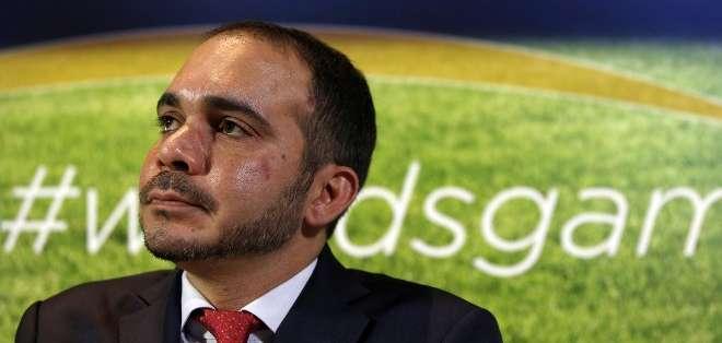 Ali Bin Al Hussein actualmente es vicepresidente de la FIFA.