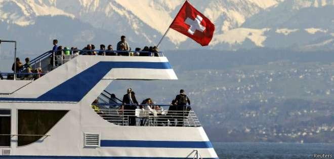 Suiza aparece como el sitio más caro para tomar vacaciones.