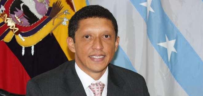 GUAYAQUIL, Ecuador.- Julio César Quiñónez visitó hoy la Gobernación, para irse familiarizando con sus actividades. Foto: Archivo
