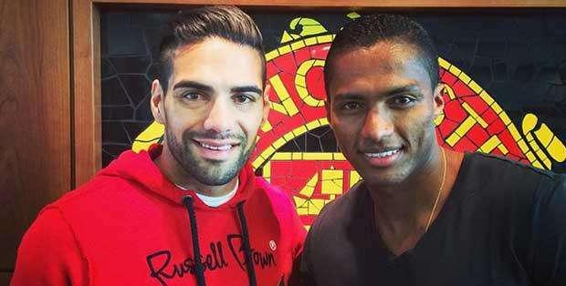 INGLATERRA.- Ambos militantes latinoamericanos del Manchester United se elogiaron en las redes sociales. Foto: Instagram