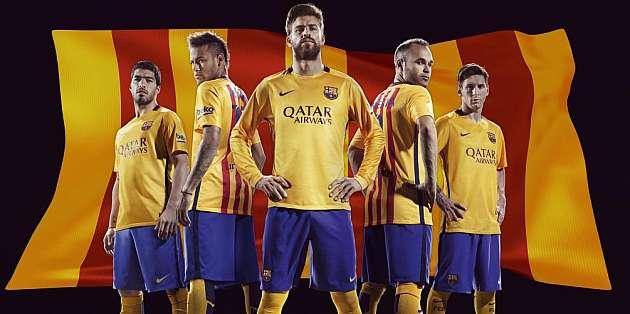Los nuevos uniformes del Barca.