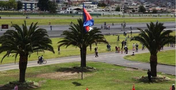 QUITO, Ecuador.- El parque tiene 671 mil m2 de extensión, y puede albergar a dos millones de personas. Fotos: Municipio de Quito