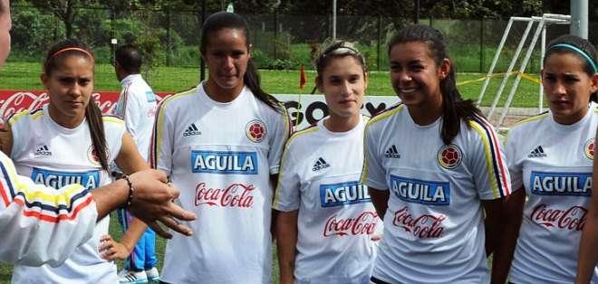 La selección femenina, una de las representantes sudamericanas en el Mundial (Foto: fcf.com.co)