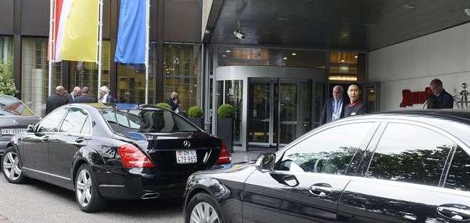 SUIZA. La operación del Departamento de Justicia de EEUU implica a más de diez dirigentes del fútbol mundial, aunque no todos ellos se encuentran en Zúrich para asistir a la reunión. Fotos: EFE