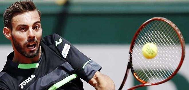 El español Marcel Granollers, la víctima de Federer (Foto: EFE)