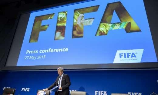 La FIFA vive horas difíciles. Foto: AFP.