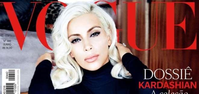 Kardashian aprovechó su viaje a Brasil para promocionar su libro y hacerse esta sesión de fotos.