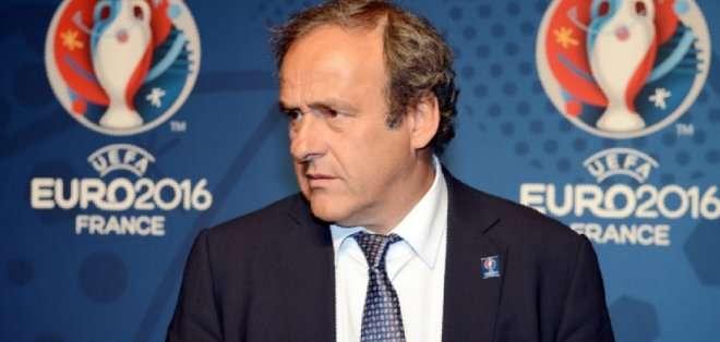 Michael Platini, presidente de la UEFA.