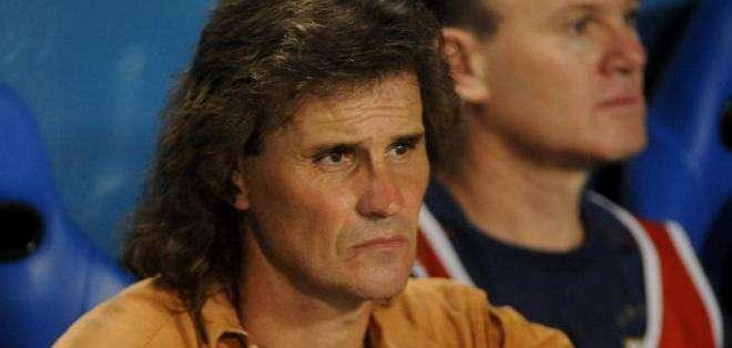Rubén Darío Insúa, entrenador argentino de El Nacional (Foto: EFE)