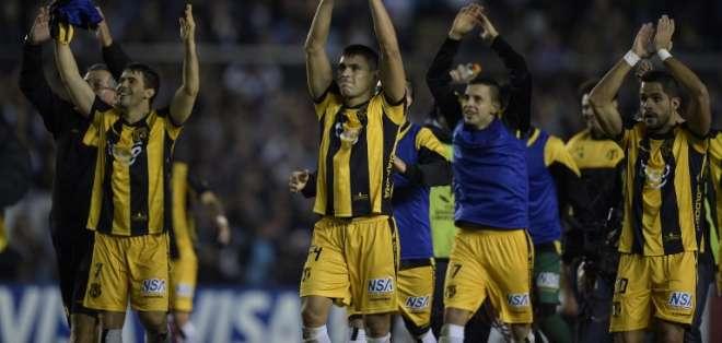 El equipo paraguayo empató 0-0 frente a Racing en el estadio Presidente Perón. Foto: AFP