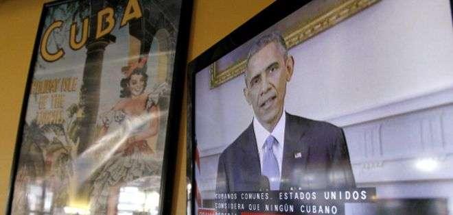 En diciembre, EE.UU. y Cuba anunciaron un acuerdo para reestablecer relaciones diplomáticas.
