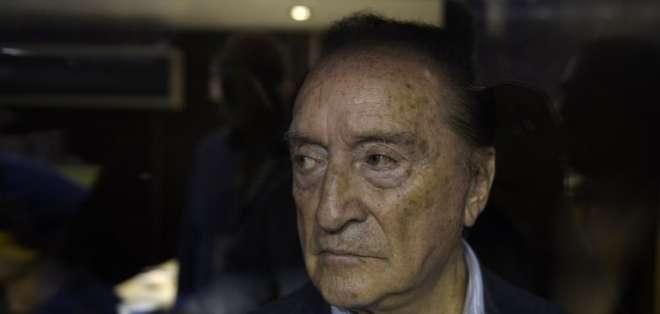 medios de Montevideo informaron que las cuentas bancarias de Figueredo en Uruguay fueron congeladas. Foto: AFP