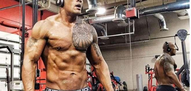 """El entrenador de Dwayne """"The Rock"""" Johnson ha revelado su rutina de entrenamiento."""