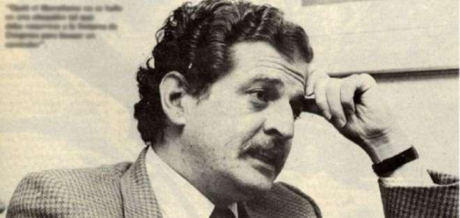 COLOMBIA.- Galán, un carismático y popular político colombiano murió a manos de sicarios a finales de 1990.  Foto: Web.