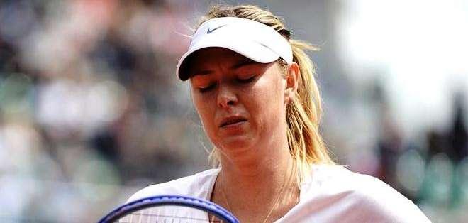 Sharapova se quedó en los octavos de final (Foto: EFE)