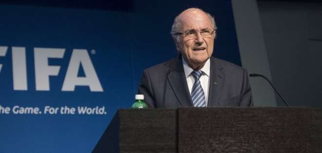 Blatter asegura que la FIFA necesita un cambio estructural. Foto: AFP.