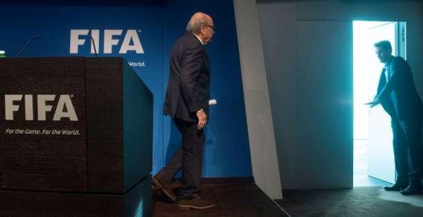 Blatter dejará la FIFA. Foto: AFP.
