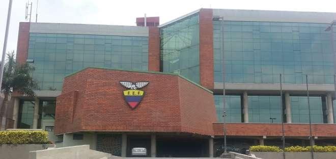 Edificio de la FEF.
