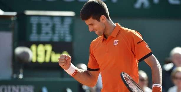 Djokovic sigue en carrera por Roland Garros. Foto: AFP.